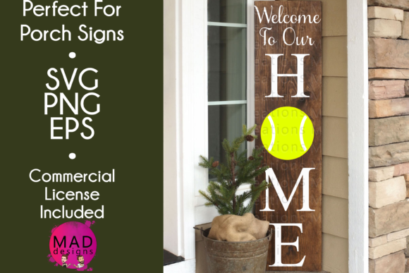 Welcome to Our Home - Tennis Graphic Crafts By maddesigns718