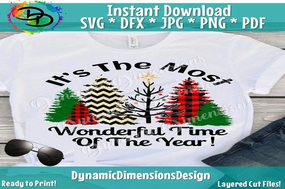 Print on Demand: Most Wonderful Time Fo the Year Graphic Crafts By dynamicdimensions - Image 1
