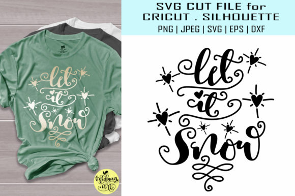 Let It Snow Graphic By MidmagArt