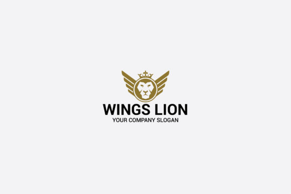 Download Free Wings Lion Graphic By Shazdesigner Creative Fabrica for Cricut Explore, Silhouette and other cutting machines.