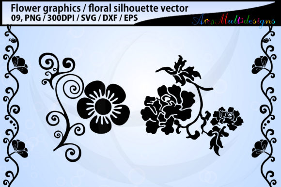 Print on Demand: Flowers Graphic Illustrations By Arcs Multidesigns - Image 2