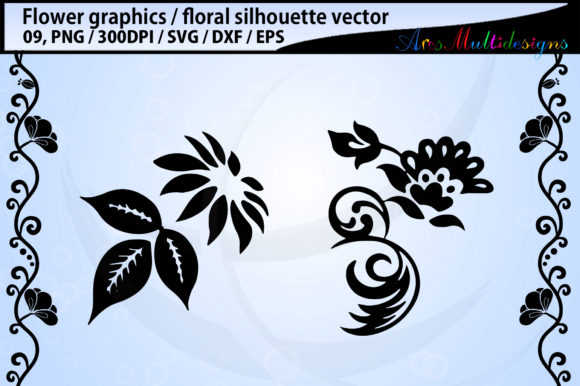 Print on Demand: Flowers Graphic Illustrations By Arcs Multidesigns - Image 3