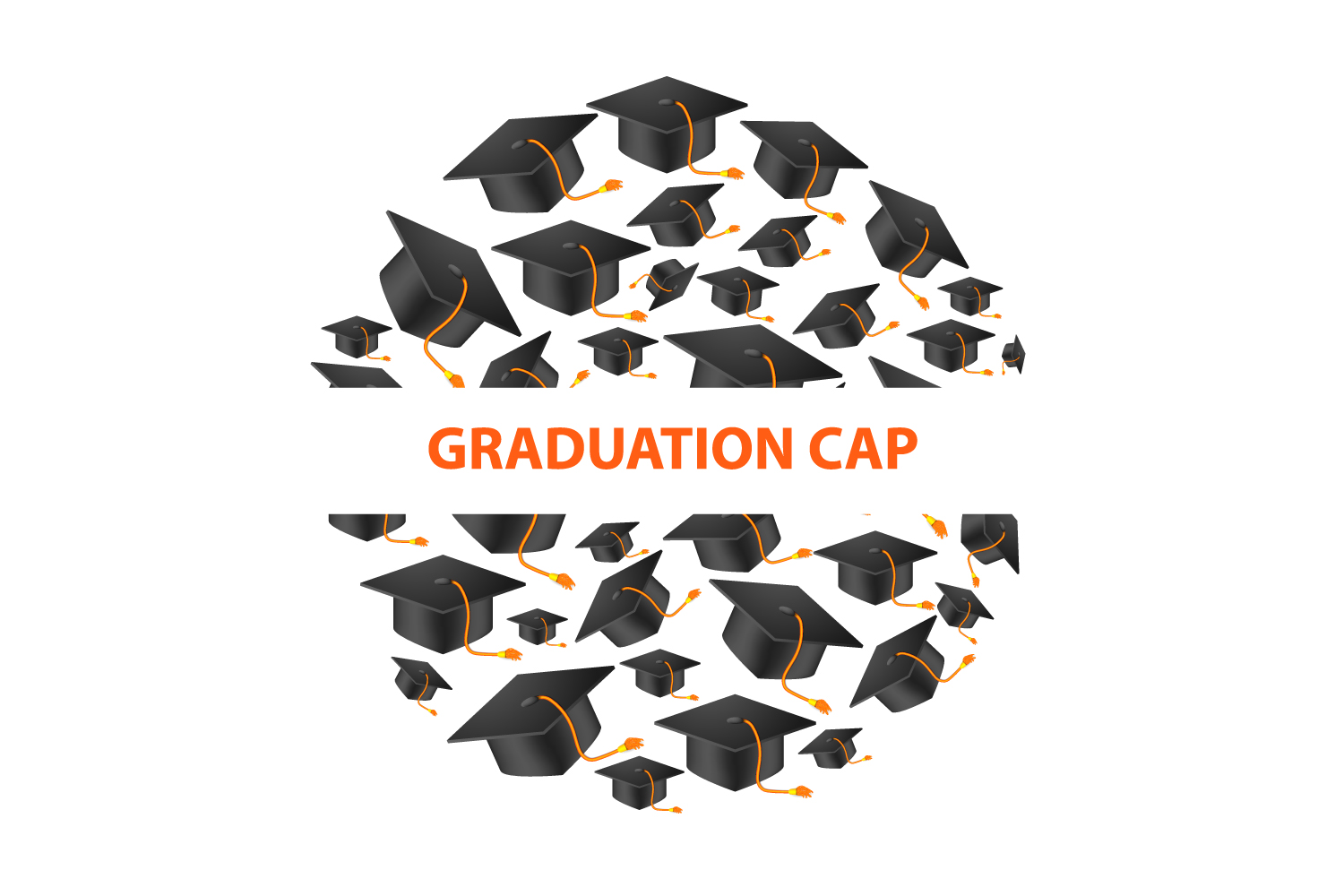 Download Free Graduation Cap Banner Graphic By Manuchi Creative Fabrica for Cricut Explore, Silhouette and other cutting machines.