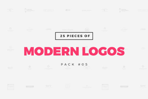 25 Modern Logo Templates Graphic Logos By wornoutmedia