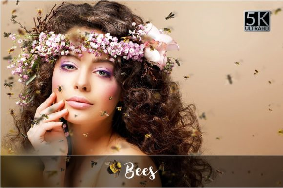 Bees Overlays Graphic Animals By FaeryDesign