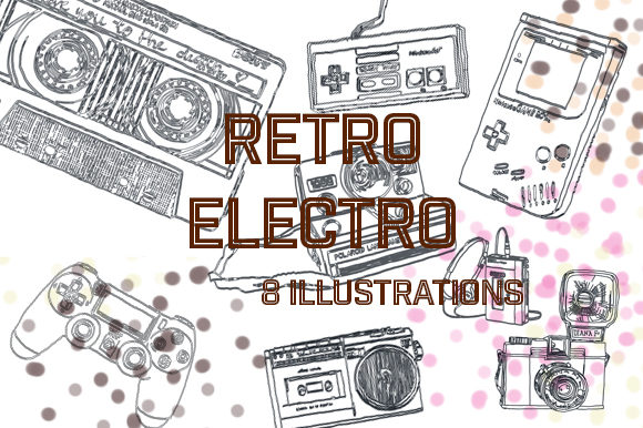 Print on Demand: Retro-Electro Graphic Illustrations By pfeicht