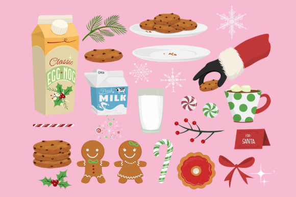 Holiday Goodies Collection Graphic Illustrations By Dapper Dudell - Image 2