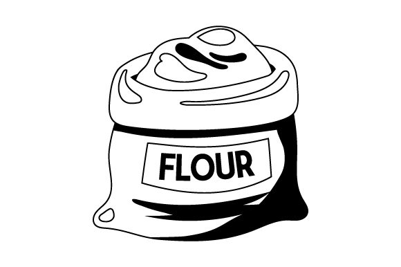 Download Free Flour Bag Svg Cut File By Creative Fabrica Crafts Creative Fabrica for Cricut Explore, Silhouette and other cutting machines.