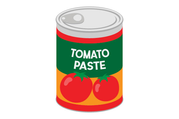 Tomato Paste Can Kitchen Craft Cut File By Creative Fabrica Crafts