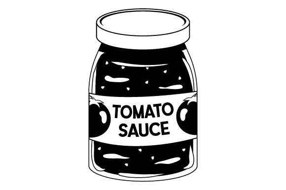 Tomato Sauce Jar Kitchen Craft Cut File By Creative Fabrica Crafts - Image 2