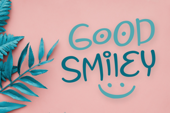 Print on Demand: Good Smiley Display Font By Dani (7NTypes)