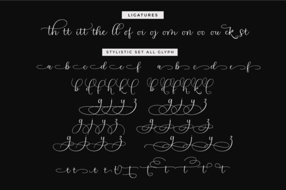 Print on Demand: Southern Hills Script & Handwritten Font By Cooldesignlab - Image 11