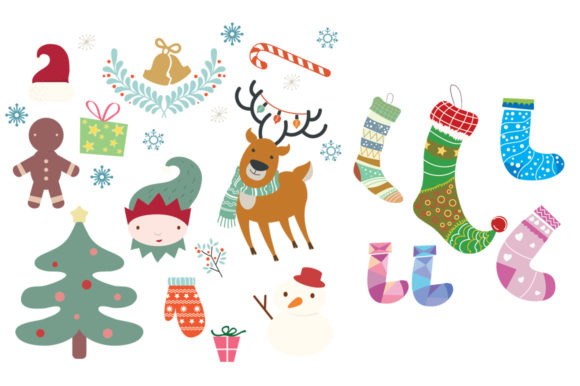 Download Free The Funny Christmas Pack Graphic By Nerd Mama Cut Files for Cricut Explore, Silhouette and other cutting machines.