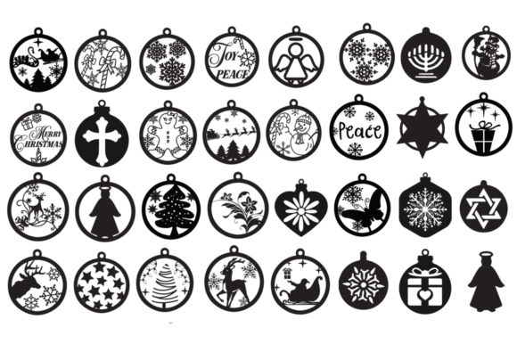 The Funny Christmas Pack Graphic Crafts By Nerd Mama Cut Files - Image 7