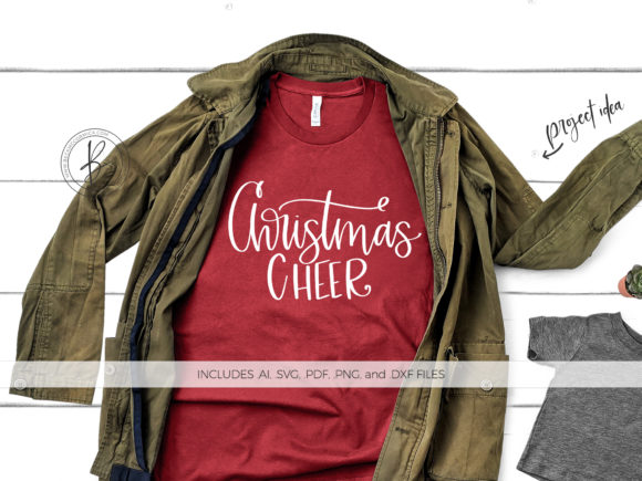 Print on Demand: Christmas Cheer Graphic Crafts By BeckMcCormick - Image 1