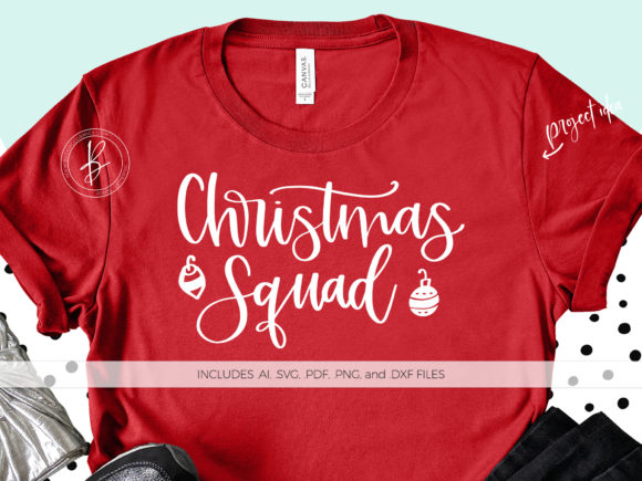 Print on Demand: Christmas Squad Graphic Crafts By BeckMcCormick - Image 1