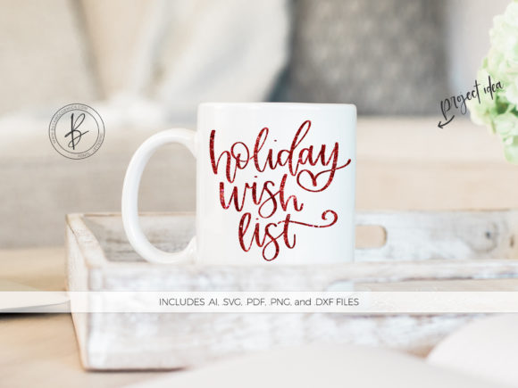 Print on Demand: Holiday Wish List Graphic Crafts By BeckMcCormick - Image 1
