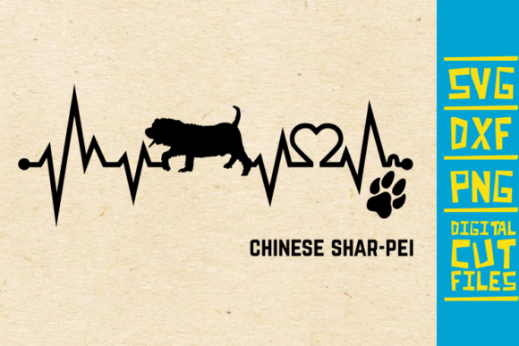 Chinese Shar-Pei Dog Graphic By svgyeahyouknowme