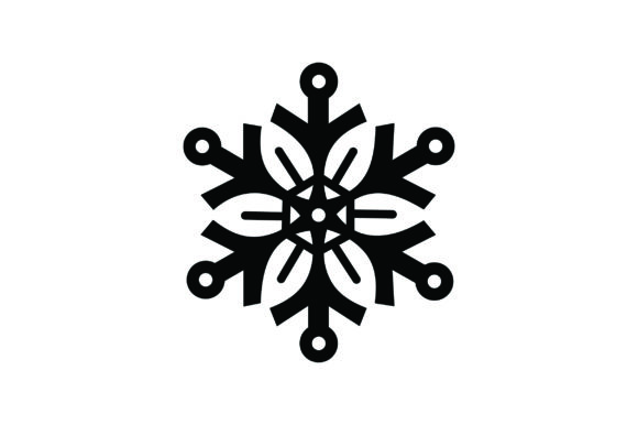 Snowflake Craft Design By Creative Fabrica Crafts