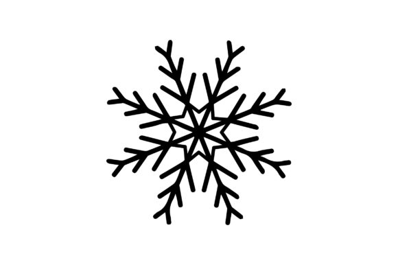 Snowflake Design Christmas Craft Cut File By Creative Fabrica Crafts - Image 1