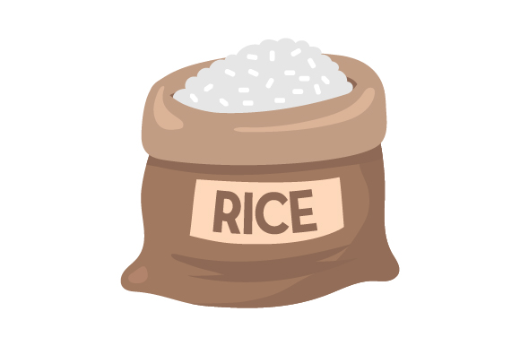 Download Free Rice Bag Svg Cut File By Creative Fabrica Crafts Creative Fabrica for Cricut Explore, Silhouette and other cutting machines.