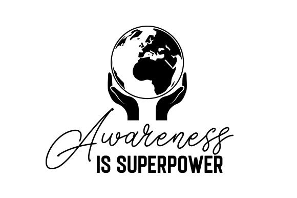 Awareness is Superpower Craft Design By Creative Fabrica Crafts