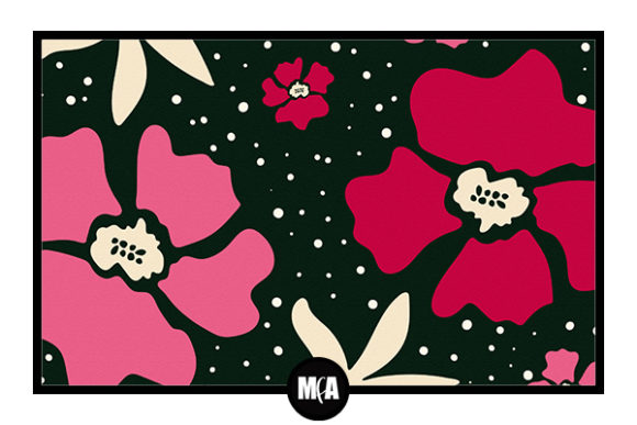 Download Free Retro Flowers V1 Graphic By Modernfloralartist Creative Fabrica for Cricut Explore, Silhouette and other cutting machines.