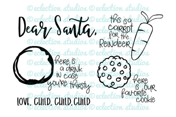 Download Free Cookies For Santa Graphic By Eclectionstudios Creative Fabrica for Cricut Explore, Silhouette and other cutting machines.