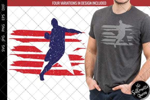 Discus Throw Men Track And Field Flag Graphic By
