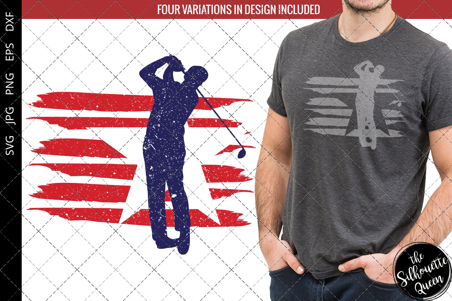 Download Free Golf Flag Graphic By Thesilhouettequeenshop Creative Fabrica for Cricut Explore, Silhouette and other cutting machines.