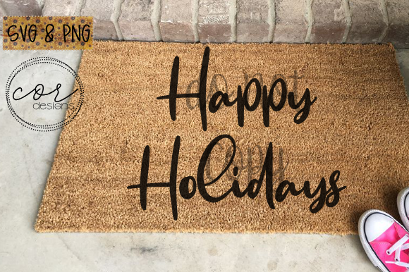 Print on Demand: Happy Holidays Graphic Crafts By designscor