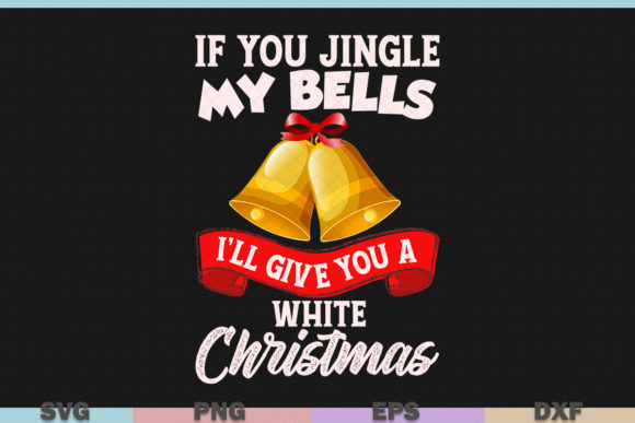 Download Free Jingle Bells Christmas Graphic By Graphicza Creative Fabrica for Cricut Explore, Silhouette and other cutting machines.