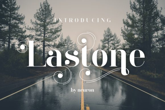 Print on Demand: LastOne Display Font By neurontype - Image 11