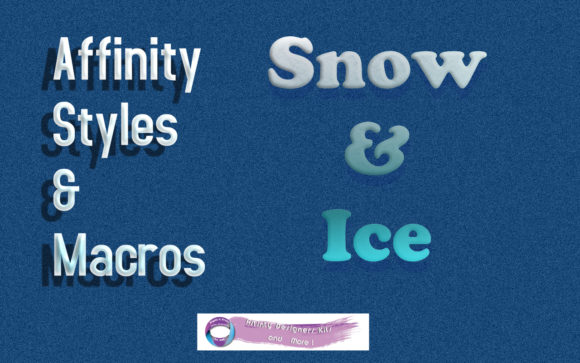 Print on Demand: Snow & Ice  for Affinity Photo Graphic Textures By Angela H. Evans
