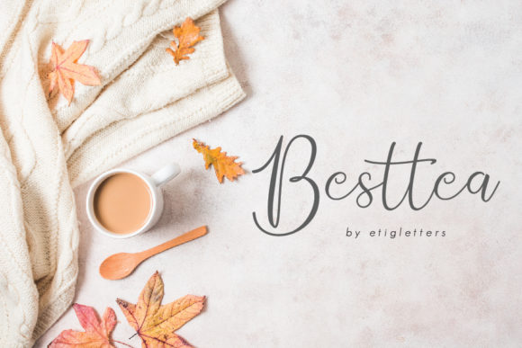 Print on Demand: Besttea Script & Handwritten Font By etigletters
