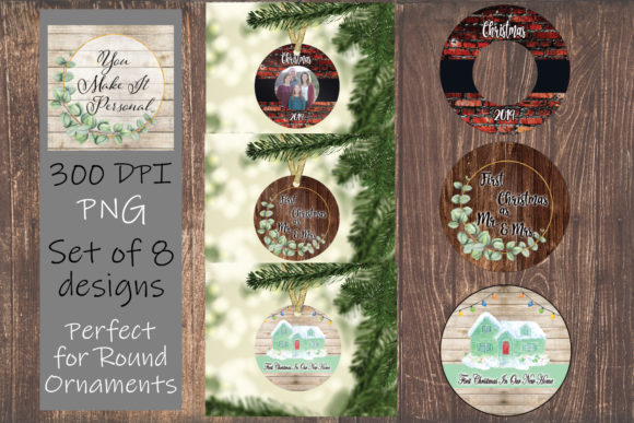 Print on Demand: Christmas Ornament Designs Graphic Print Templates By Valerie Anderson