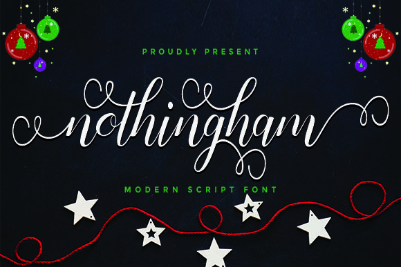 Nothingham Script Script & Handwritten Font By utopiabrand19