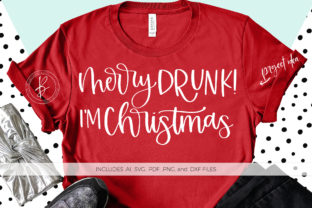 Download Free Merry Drunk I M Christmas Graphic By Beckmccormick Creative Fabrica for Cricut Explore, Silhouette and other cutting machines.