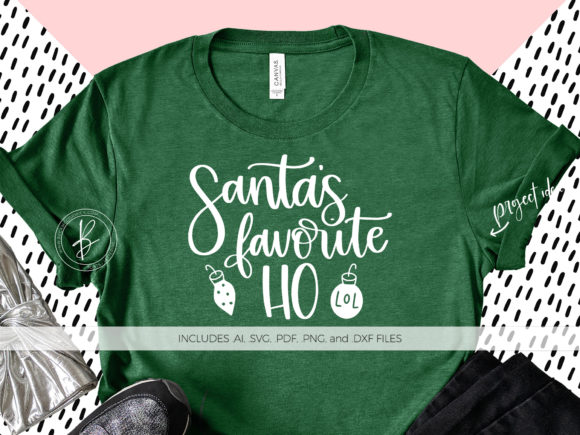 Print on Demand: Santa's Favorite Ho Graphic Crafts By BeckMcCormick - Image 1