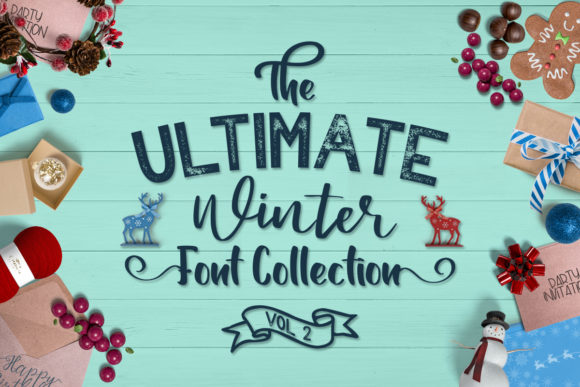 The Ultimate Winter Font Collection Vol 2