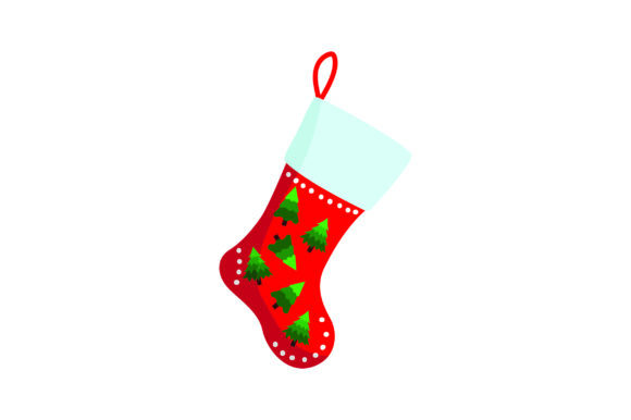 Download Free Christmas Stocking With Tree Svg Cut File By Creative Fabrica for Cricut Explore, Silhouette and other cutting machines.