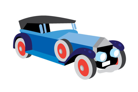 Download Free Roaring 20s Car Svg Cut File By Creative Fabrica Crafts for Cricut Explore, Silhouette and other cutting machines.