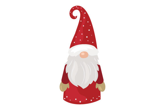 Scandinavian Gnome Christmas Craft Cut File By Creative Fabrica Crafts