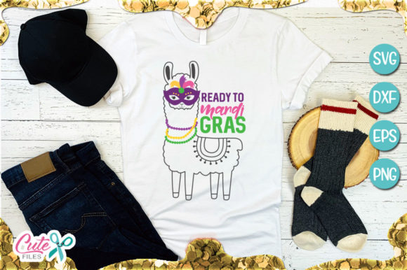 Ready to Mardi Gras Graphic Illustrations By Cute files