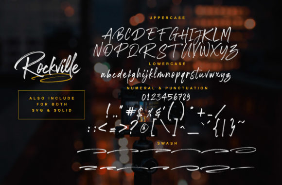 Print on Demand: Rockville Color Fonts Font By Ardian Nuvianto - Image 9