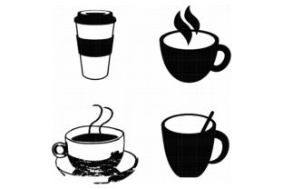 Download Free Hot Coffee Cup Graphic By Crafteroks Creative Fabrica for Cricut Explore, Silhouette and other cutting machines.