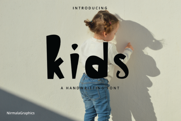Print on Demand: Kids Script & Handwritten Font By nirmala.graphics