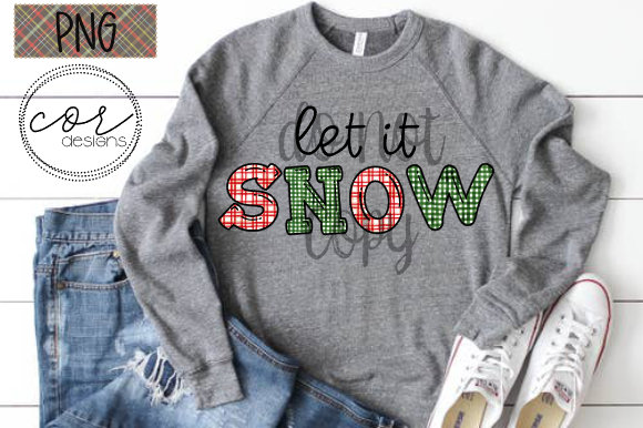 Let It Snow Graphic By designscor