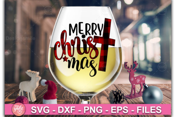 Download Free Merry Christmas Graphic By Designdealy Com Creative Fabrica for Cricut Explore, Silhouette and other cutting machines.