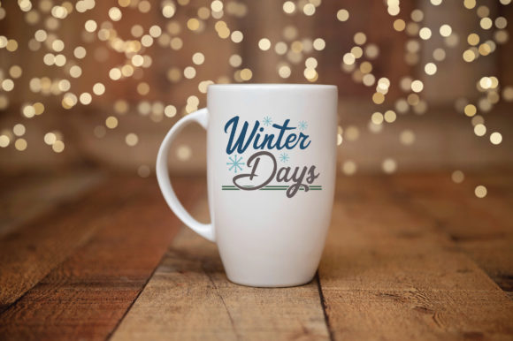 Print on Demand: Winter Days Cut File Graphic Crafts By oldmarketdesigns - Image 3